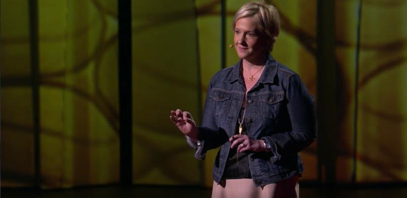 Brene Brown speaks on shame and vulnerability