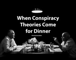 couples counselling calgary title image of dinner table two men arguing conspiracy theories